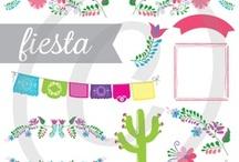 Fiesta! Cinco De Mayo / Mexican Party Ideas! / Ideas and Inspiration for Cinco De Mayo and Mexican themed parties