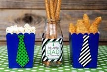 Father's Day Ideas We Love! / Ideas And Inspiration for Father's Day / by B. Lovely Events