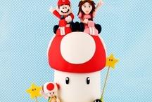 1up! Mario bros party / Mario Bros Party Ideas