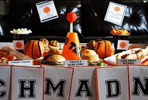 Basketball /March Madness Party! / Party ideas for March madness and Basketball Parties