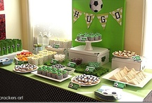 World Cup / Soccer Party! / Ideas and Inspiration for a Soccer Party or party for the World Cup