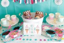 Ice Cream Party! / Ideas and Inspiration for an Ice Cream Party