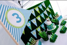 Fore!! A Stylish Golf Party / Ideas and Inspiration for a Golf Party or party to celebrate The Masters