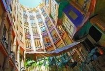 Architectural Feats / Put your geometry skills to the test with these architectural wonders. More on http://www.bohemiantrails.com/.
