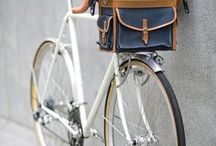 Bike in Style / Whether you are in New York or Berlin, grab a bike and go explore the city. More on http://www.bohemiantrails.com/.