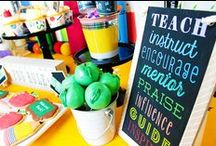 Back To School Ideas! / Ideas and Inspiration for Back To School Parties and Gifts