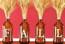 Falling For These Fall Designs! / Ideas and Inspiration for a Fall party and decorating Ideas