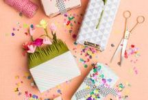 g i f t s / Board of gift wrapping ideas.
