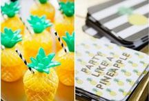 Pineapple Party! / Ideas and inspiration for a pineapple party!