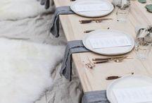 Table settings & decor / Table settings & decor