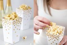Golden Globes and Oscar Party Ideas! / Party And Decor Ideas for The Golden Globes