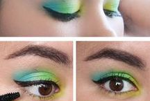 Eye makeup + Tutorials and Inspiration / My favorite eye makeup styles on the internet.