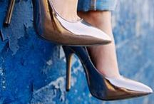 Trendy shoes: high heels, flats and sandals. / Shoes to die for, I mean, can you blame me?