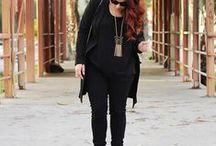Total black outfit inspiration and ideas / How to achieve the perfect total black look