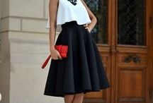 Skirts inspiration. Trendy, cool and sexy skirts.