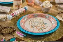 Dream Catcher Party! / Ideas & Inspirations For A Tribal BoHo Dream Catcher Party!