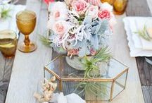Geometric Theme Loveliness! / Ideas & Inspirations For A Geometric Theme Wedding And Party