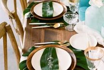 Palm Leaf Party! / Ideas & Inspiration For Palm Leaf weddings & Parties