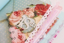 Scrapbooking things / by Suzann Coombe