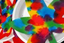 Art ideas for children / Pinning art ideas for children, encouraging natural discovery and creative development.