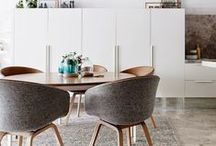 Dining / Inspiring dining areas from beautiful homes around the world / by Amina | PAPER/PLATES