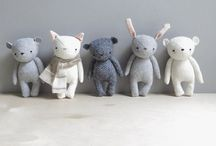 Plushities / Inspiration for lovely plush toy creations.  / by Angelina Panian
