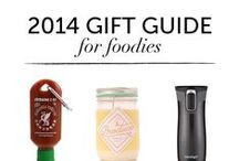 2014 Gift Guides / Gift ideas for foodies, bookworms, writers and more. / by Amina | PAPER/PLATES
