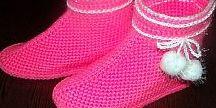 Вяжем, шьем  Обувь