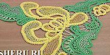 Вяжем  Румынское кружево(шнурковое)