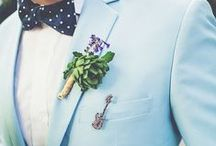 GROOMS GUIDE / Are you a groom to be? Or perhaps your looking for some inspiration for your future husband? Here you'll find suits and attire for all styles.