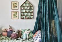 Chambre d'enfants - Kids / Un peu d'inspiration pour créer une chambre d'enfant tendance et design ! #Chambre #Enfants #Bedroom #Kids #Intérieur #Home #Décoration #Design #Tendance #Idées