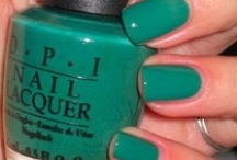 Ermagherd Nerlperlersh! / OPI, Essie, Orly...and so much more!!! You're rearely see me without color on my nails! / by Emily Ward