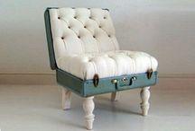 My Trash is My Treasure / uselful things, repurposed, refurbished, cool, trash, cool / by Ana Pea