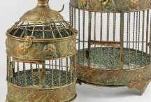 ~ VINTAGE BIRD CAGES ~ / by Mary Norris Hart