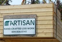 ( Artisan Custom Log Homes ) BC - Canada