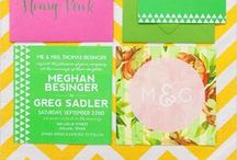 Invitations & Stationery / Are looking for the perfect wedding invitation? Perhaps you want to design and make your own and are looking for inspiration? We have found some of the most unique wedding invitations just for you! / by Bespoke-Bride