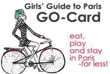 gg2p GO-Card / Our Girls' Guide to Paris GO-Card allows you to EAT, PLAY and STAY in #Paris and throughout France for less! http://girlsguidetoparis.com/gg2p-go-card/  / by Girls' Guide to Paris