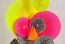 Neon Colour Scheme / Neon inspired wedding ideas. / by Bespoke-Bride