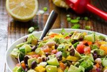 Healthy Salads To Try / by Julie Carns