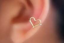 ~ EAR CUFFS ~ / by Mary Norris Hart