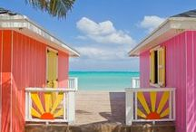 COLOUR THE WORLD / Discover the best unusual honeymoon and holiday destinations for color lovers!