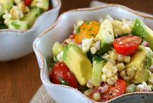 Not Your Average Salads / So fresh and so green green! Salads don't have to just be lettuce and store bought dressing anymore. With all of these creative and trendy salad ideas, healthy turns absolutely delicious! Homemade salad dressings, protein-packed toppings, and loads of fresh vegetables make for a great lunch, dinner, or side dish for any occasion!