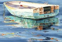 Watercolor Painting / by Elaine