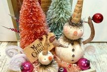 christmas crafts / projects / by Joann Dunbar