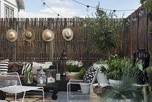 Exterieur - Outdoor / Des terrasses et des jardins comme on aimerait en avoir ! #Terrasse #Jardin #Extérieur #Outside #Tendance #Végétal #Design #Déco