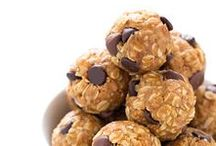 Healthy Snacks / Tons of healthy snack ideas! Nutritious and delicious energy bites, roll ups, homemade protein bars, and snack mixes galore! Easy to throw together, always tasty, and full of protein, whole grains, and nutrients to help you lose weight and stick to a healthy lifestyle!