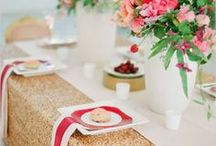 Table for Two / Romantic dinners for two are always a good idea. Go above and beyond by drawing inspiration from these pins.
