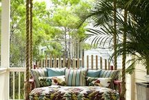 Porches & Swings outdoor / Pretty and homey porches  / by Teresa Christolear