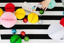 MERRY + BRIGHT / Find Christmas crafts, ideas and decorations for the holiday season.