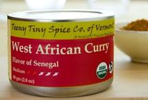 TTS Co. - West African Curry / Our West African Curry blend is rich with mild heat.  It includes many ingredients that you would expect in a curry with the additon of a few spices more typical of African cuisine such as Cubeb and Grains of Paradise.  The blend is based on curries used in Senegal for preparing traditional fish dishes. As with all of our curry blends it is great as a curry with any protein or vegetable, used as a spice rub or as a general seasoning to provide a balanced new flavor to your kitchen.